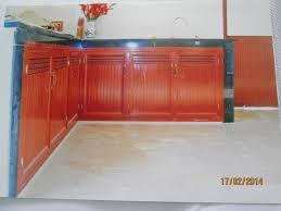 Tủ bếp nhôm kính