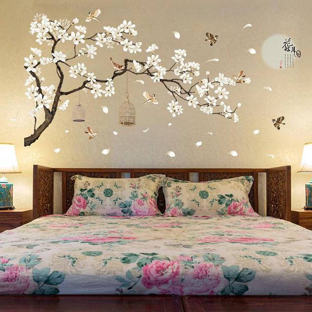 Giấy dán tường phòng ngủ 3D