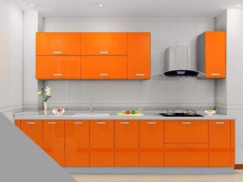 Tủ bếp Acrylic HT-04