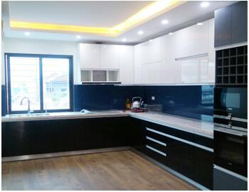 Tủ bếp Acrylic sang trọng-TBA.05