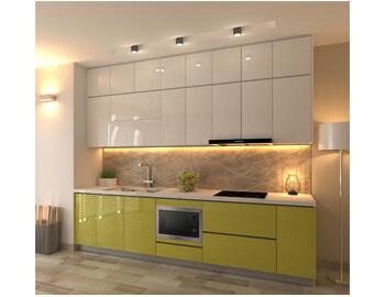 Tủ bếp Acrylic hiện đại-TBA.01