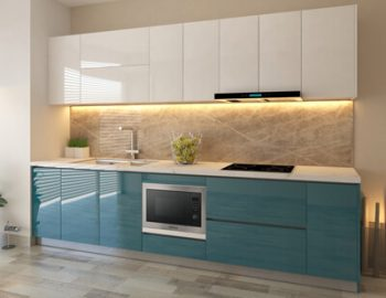 Tủ bếp Acrylic đẹp-TBA.02