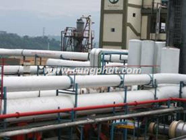 Ống FRP dẫn hóa chất công nghiệp
