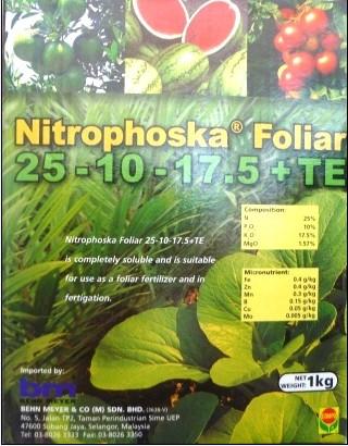 Phân bón vi lượng Nitrophoska Folia