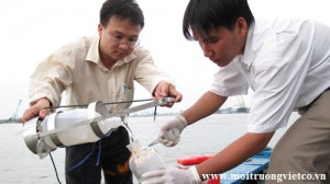 Phân tích mẫu chất lượng môi trường