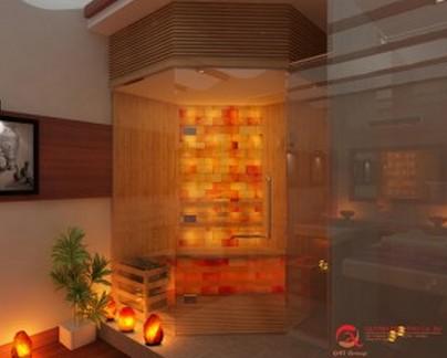 Phòng Sauna đá muối