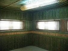 Phòng xông hơi bằng Tre
