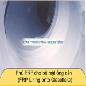 Phủ FRP cho bề mặt ống dẫn