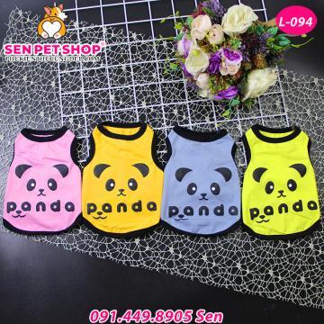 Áo Cho Chó Hình Panda