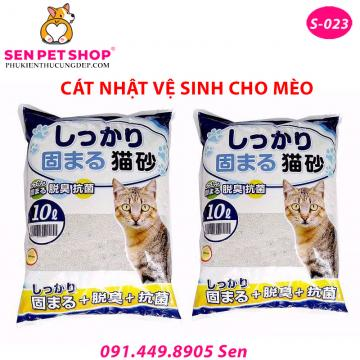 Cát Vệ Sinh Cho Mèo