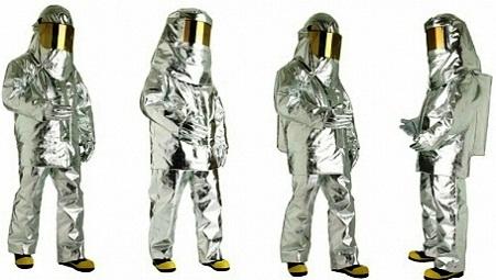 Quần áo chống cháy tráng bạc