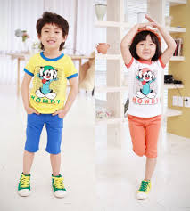 Quần áo thời trang trẻ em