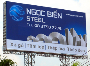 Làm biển quảng cáo cỡ lớn