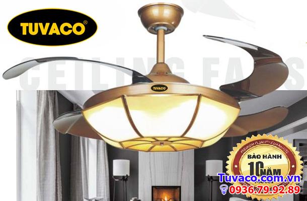 Quạt trần trang trí tuvaco C600TV-01