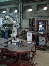 Robot hàn OTC Osacom 1100