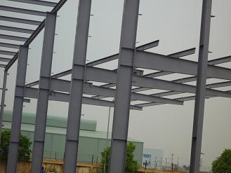 Sản xuất, lắp dựng kết cấu thép