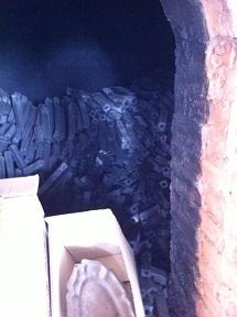 Sản xuất than củi