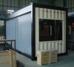 Shack container for Navy