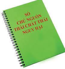 Sổ đăng ký quản lý chất thải nguy hại