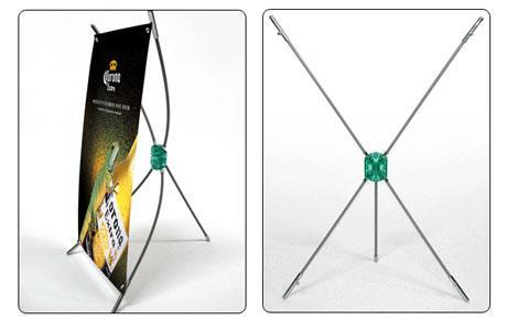 Standee, khung treo quảng cáo, kệ X mini