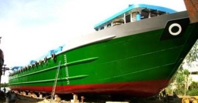 Tàu hàng 2.700 tấn được Công ty đóng mới và hạ thủy tháng 05/2010