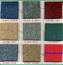 Thảm trải màu trơn - dạng cuộn