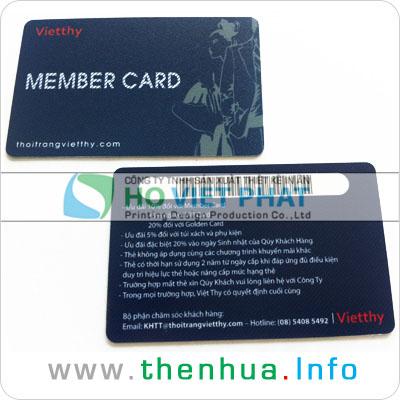 Thẻ từ, Thẻ mã vạch