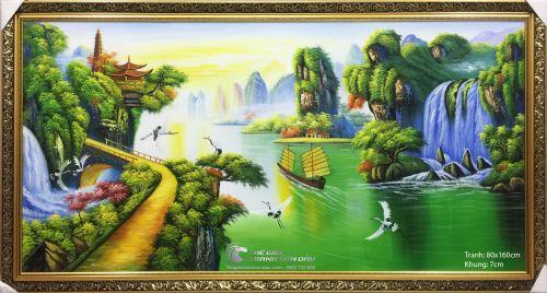 Tranh Thuận Buồm Xuôi Gió Phong Thủy