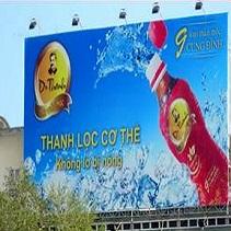 Thi công biển Pano quảng cáo tấm lớn