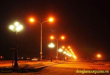 Thi công hệ thống chiếu sáng công cộng