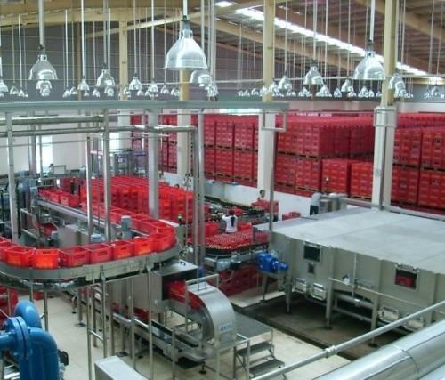 Thi công hệ thống điện chiếu sáng nhà máy Bia