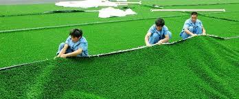 Thi công sân cỏ nhân tạo