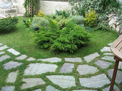 Thi công tiểu cảnh, sân vườn