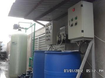 Thiết bị làm mềm nước cho lò hơi, hệ thống lạnh