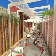Thiết kế không gian đón nắng