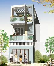 Thiết kế kiến trúc nhà phố