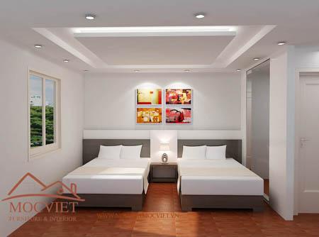 Thiết kế nội thất khách sạn Sunflower 2