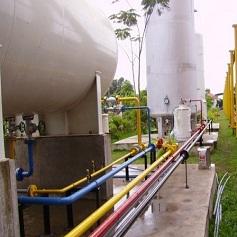 Thiết kế thi công hệ thống trạm Gas