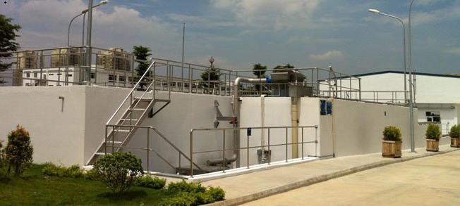 Thiết kế và lắp đặt hệ thống xử lý nước thải nhà máy