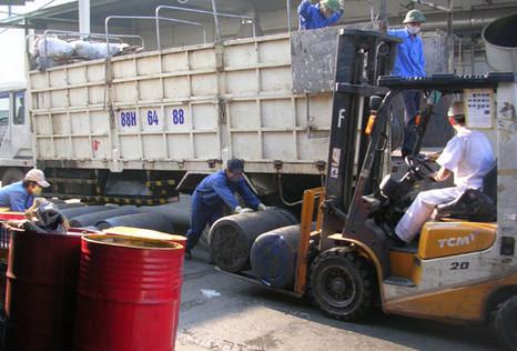 Thu gom vận chuyển chất thải