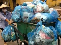 Thu gom, vận chuyển rác thải sinh hoạt