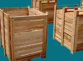 Thùng gỗ nan kín