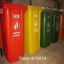 Thùng rác composite (FRP)