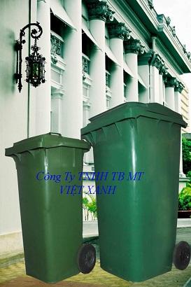 Thùng rác nhựa ngoài trời