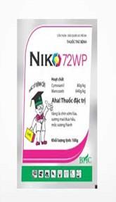 Thuốc bảo vệ thực vật Niko
