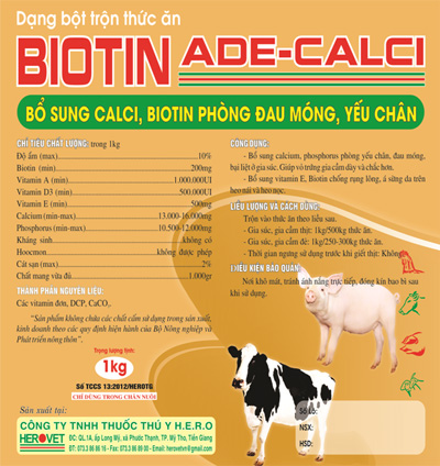 Thuốc Biotine