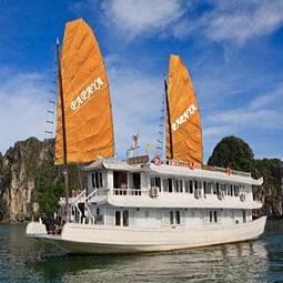 Tour Hành Trình Trên Biển - Tàu Deluxe Papaya (2 ngày 1 đêm)