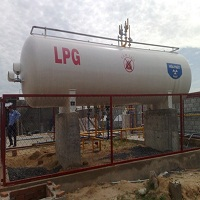 Trạm bồn chứa gas 8 tấn