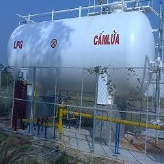Trạm bồn chứa gas