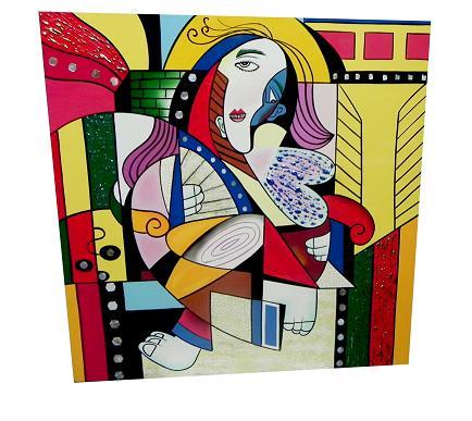 Tranh Sơn Mài Picasso